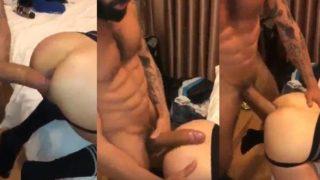 Gay dotado comendo a bunda do passivo ate fazer ele gemer na pica